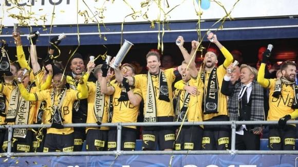 Снимка: Лилестрьом спечели Купата на Норвегия за 6-и път