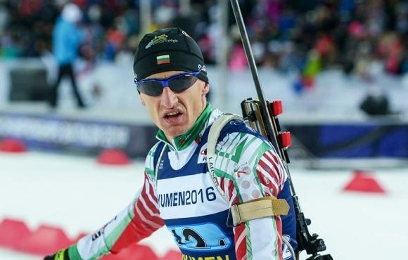 Най-добре представилият се български биатлонист през миналия сезон за Световната