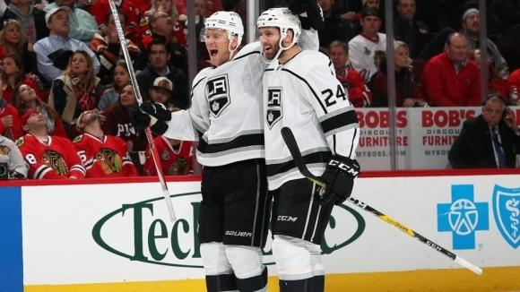 Лос Анджелис записа пета поредна победа в НХЛ след успех
