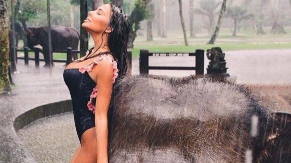 Екзотичната почивка на Николета Лозанова в Бали продължава с пълна