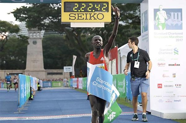 Това може и да е бил един от най-бавните маратони