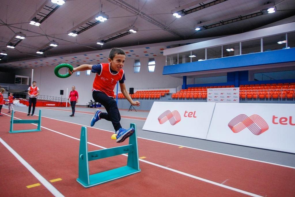 """Най-модерното атлетическо съоръжение в България – """"Арена Асикс"""" бе домакин"""