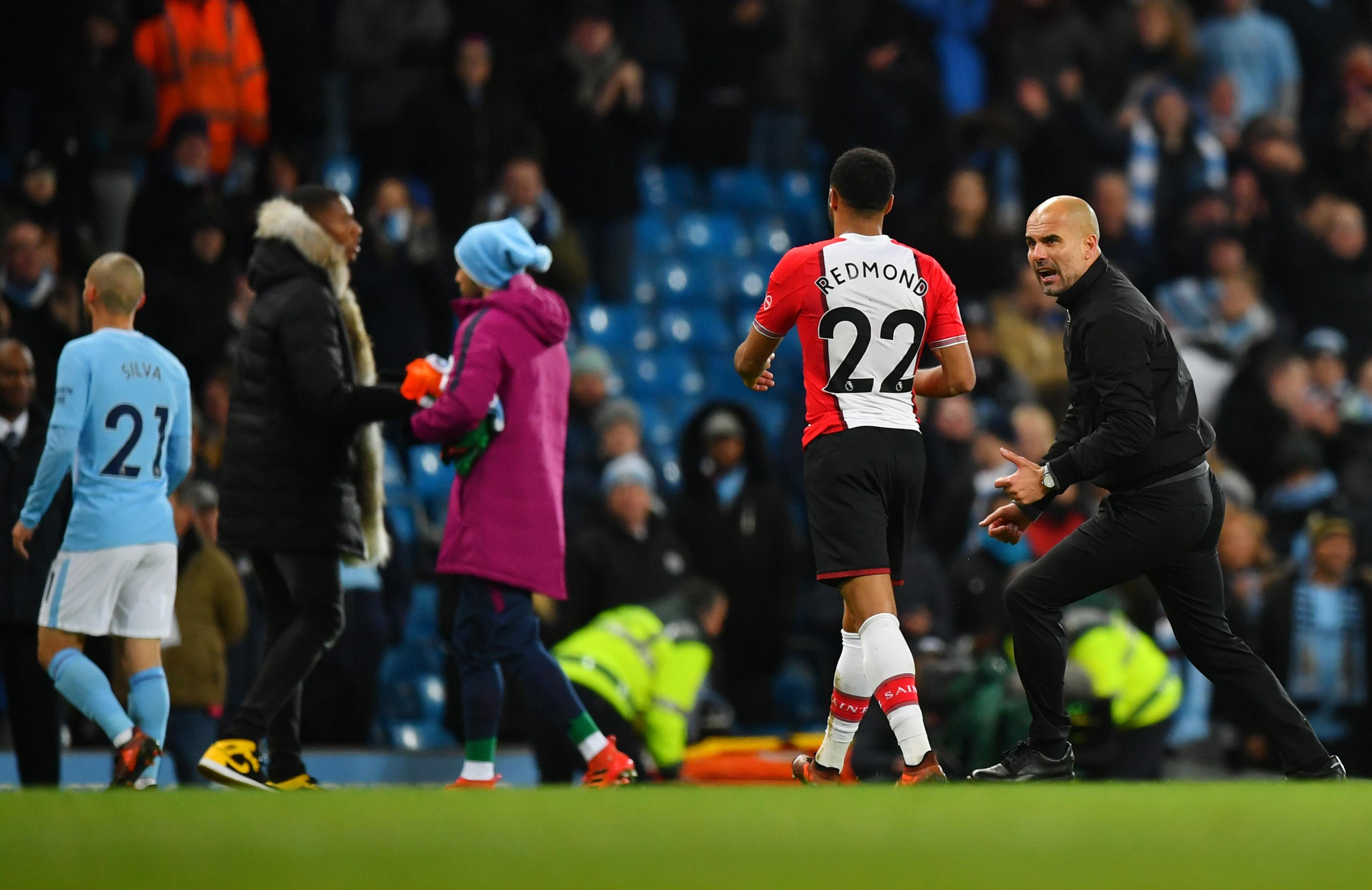 Английската футболна асоциация не наказа Джосеп Гуардиола за превъзбуденото му