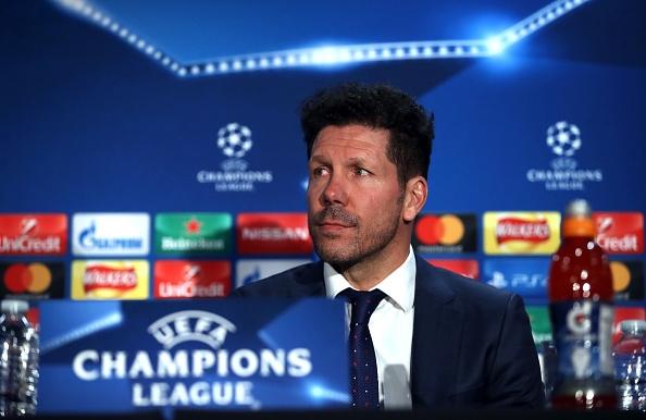 Старши треньорът на Атлетико Мадрид Диего Симеоне сподели, че няма