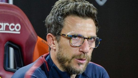 Наставникът на Рома Еузебио Ди Франческо предупреди футболистите си да