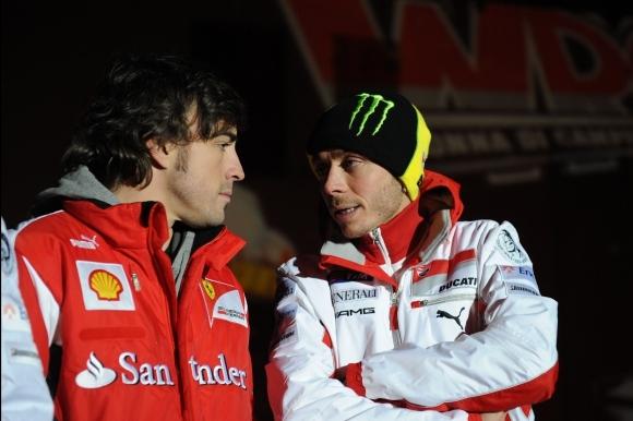 В интервю за радио предаване ветеранът в MotoGP Валентино Роси