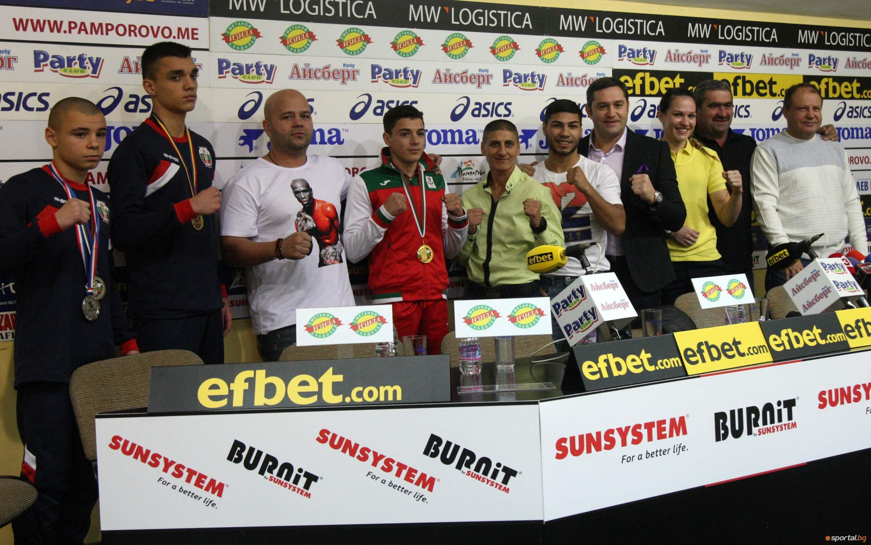 Българската федерация по бокс изпраща 2017 година като една от