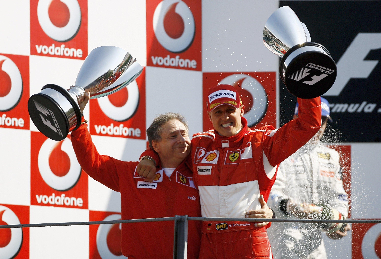 Снимка: Шумахер постоянно се съмнявал в себе си, разкрива Жан Тод