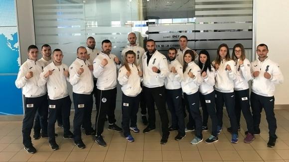 Снимка: Националният ни отбор по карате киокушин замина за Световното в Русия