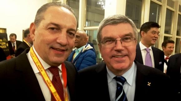 По време на конгреса на Международната федерация по модерен петобой