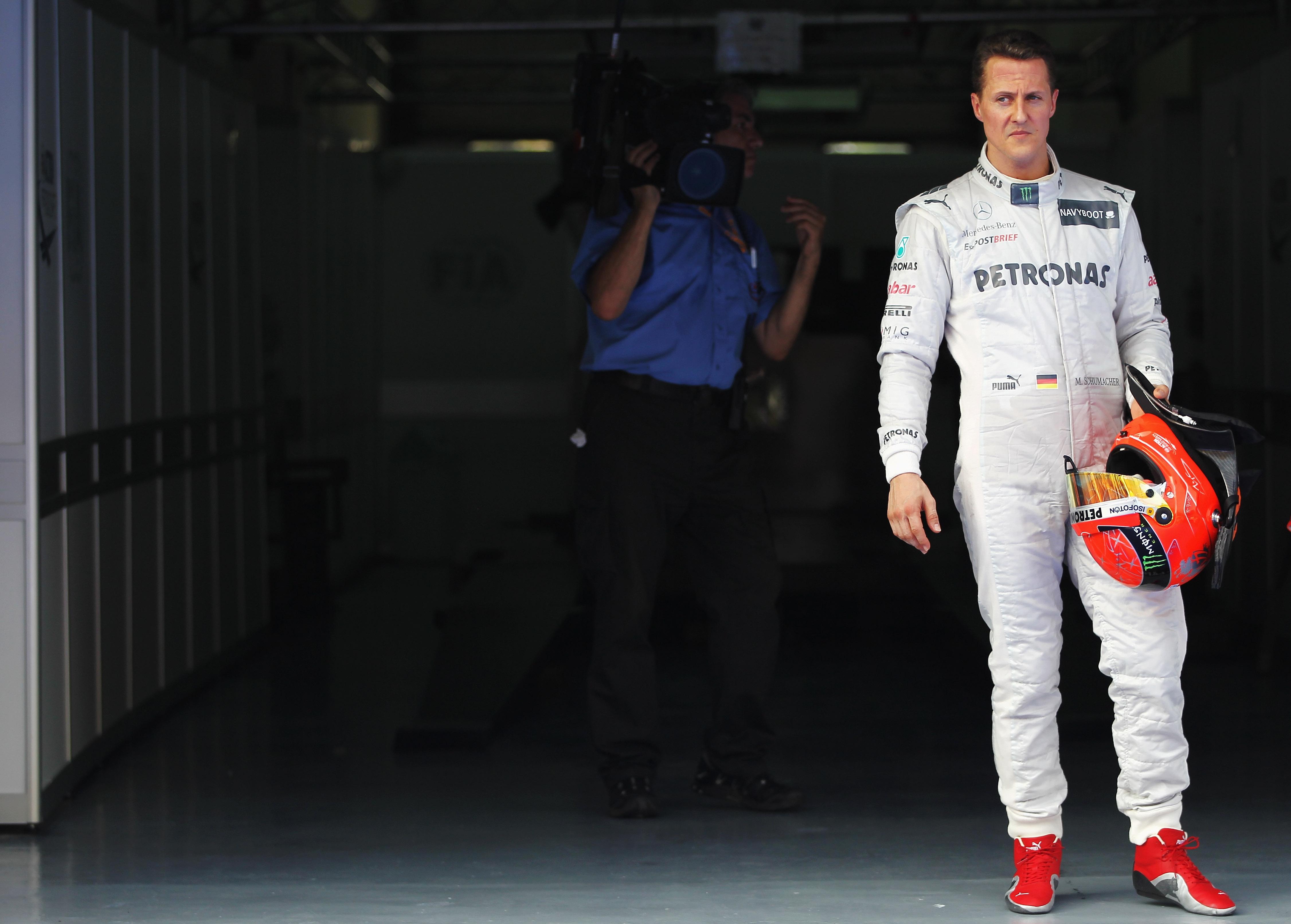 Снимка: Жан Тод: Михаел Шумахер все още се бори