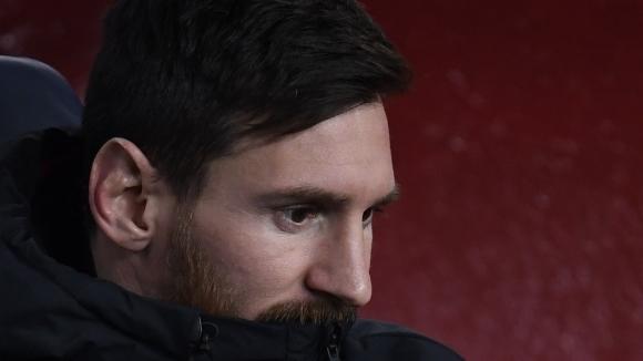 Суперзвездата на Барселона Лионел Меси не се поддава на футболната