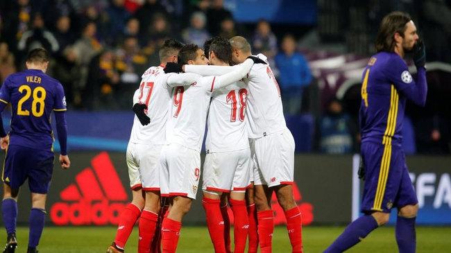 Отборите на Марибор и Севиля направиха 1:1 в мач група