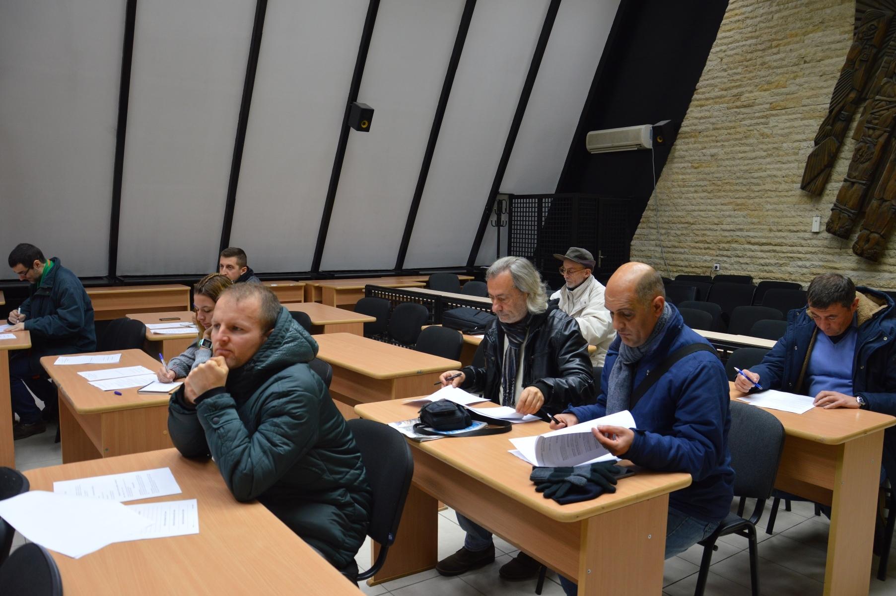 Спортни журналисти и президенти на клубове, регистрирани в Община Благоевград,