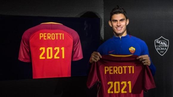 Един от ключовите играчи на Рома преподписа с клуба до