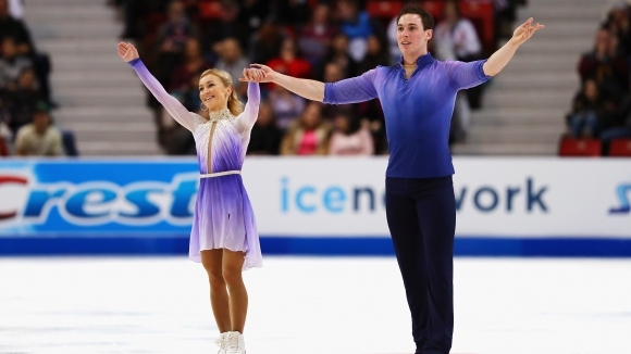 Световните и европейски вицешампиони Альона Савченко и Брюно Масо (Германия)