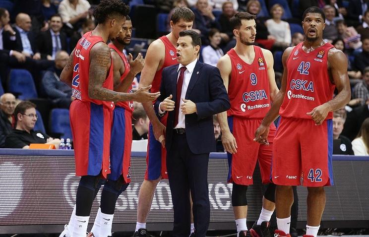 Лидерът в класирането на баскетболната Евролига ЦСКА Москва не допусна