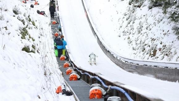 Норвегия спечели отборната надпревара от Световната купа по ски-скокове на