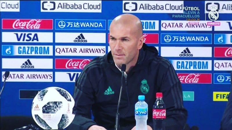 Старши треньорът на Реал Мадрид Зинедин Зидан сподели очакванията си