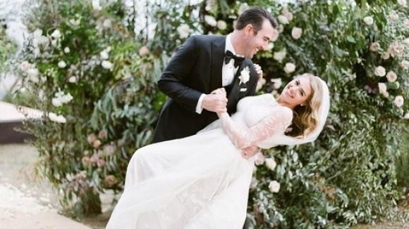 Супермоделът Кейт Ъптън и бейзболистът Джъстин Верландър минаха под венчилото