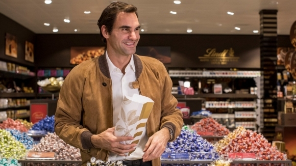 Роджър Федерер стана рекламно лице на швейцарската шоколадова компания Lindt,