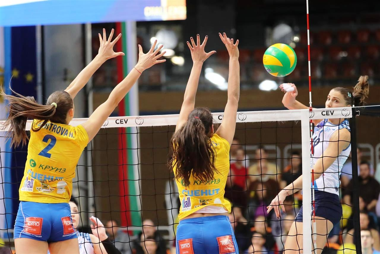 Волейболният отбор на Марица (Пловдив) се представи повече от достойно