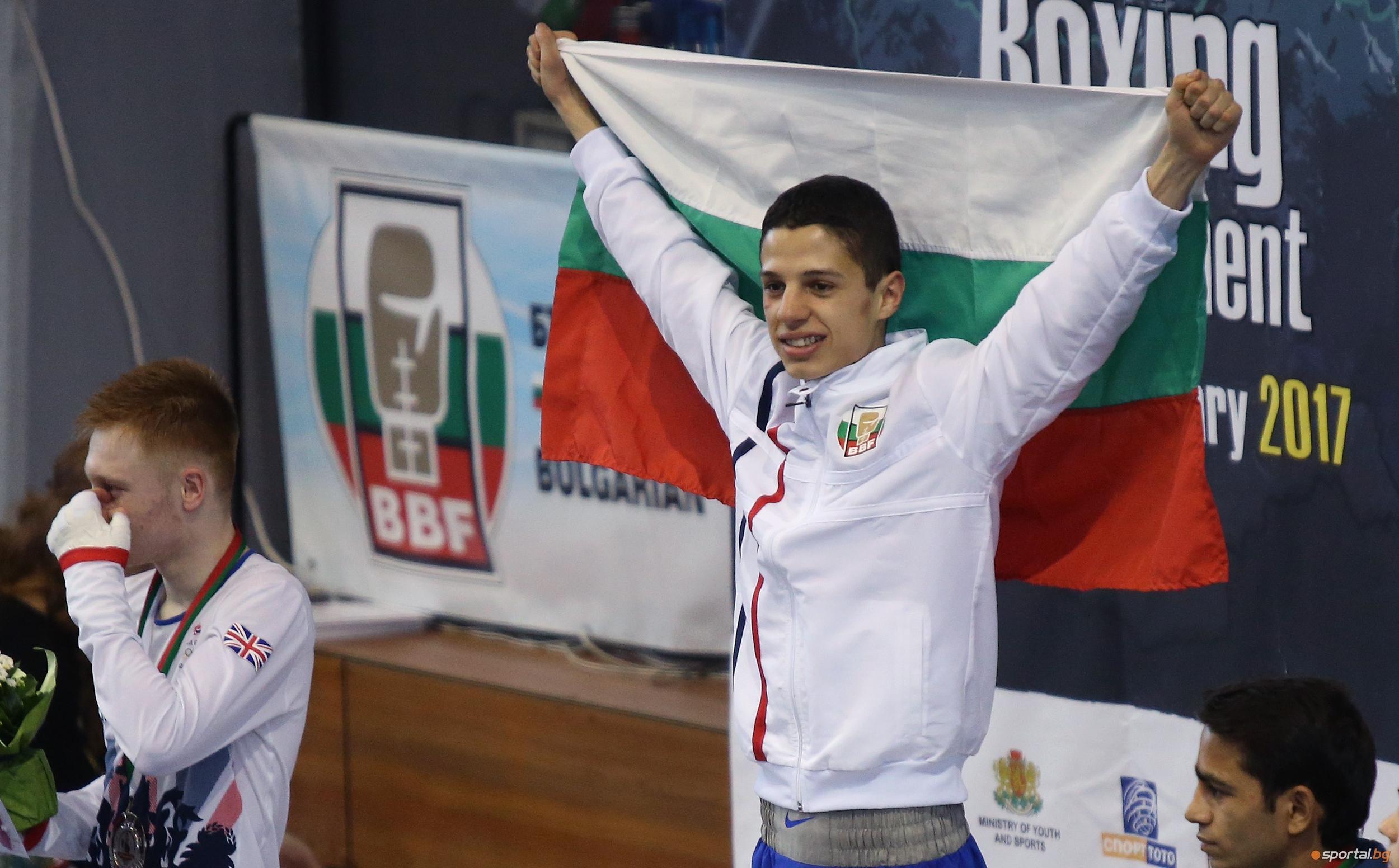 Боксьорът Тинко Банабаков е спортист на годината на Велико Търново,