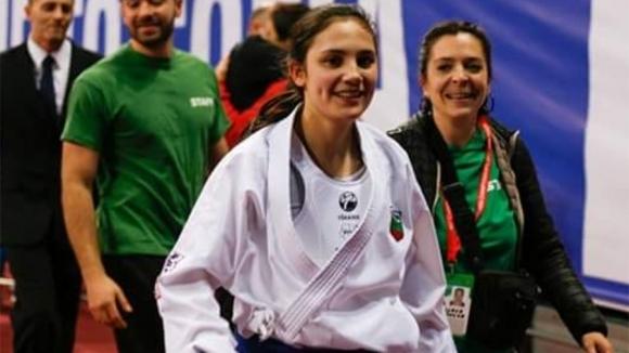 Европейската шампионка по карате Ивет Горанова беше удостоена със званието