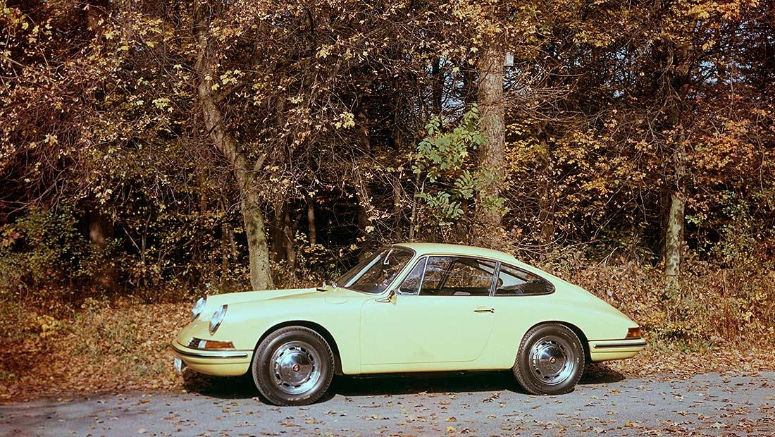 В края на 50-те години на миналия век Porsche 356,