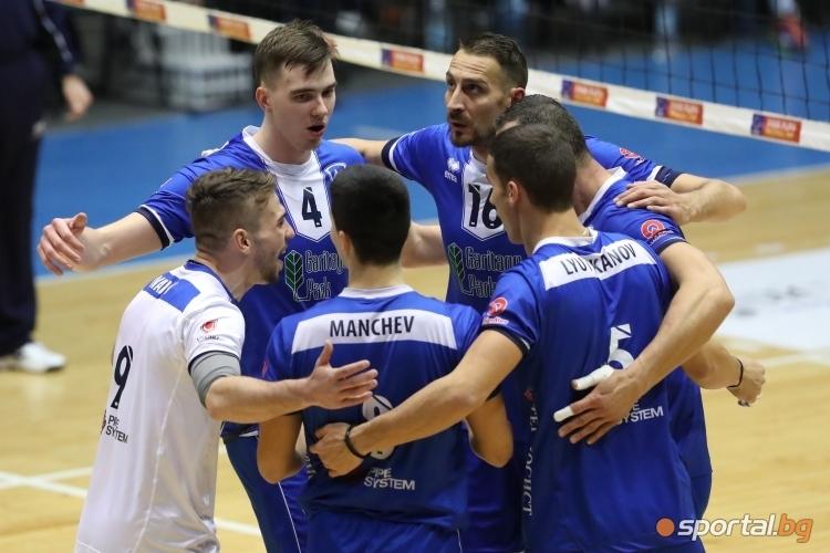 Волейболният отбор на Левски отпадна от третия по сила европейски