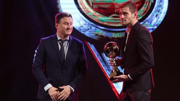 Снимка: Яблонски: Не съм очаквал, че след само година в България ще получа подобна награда