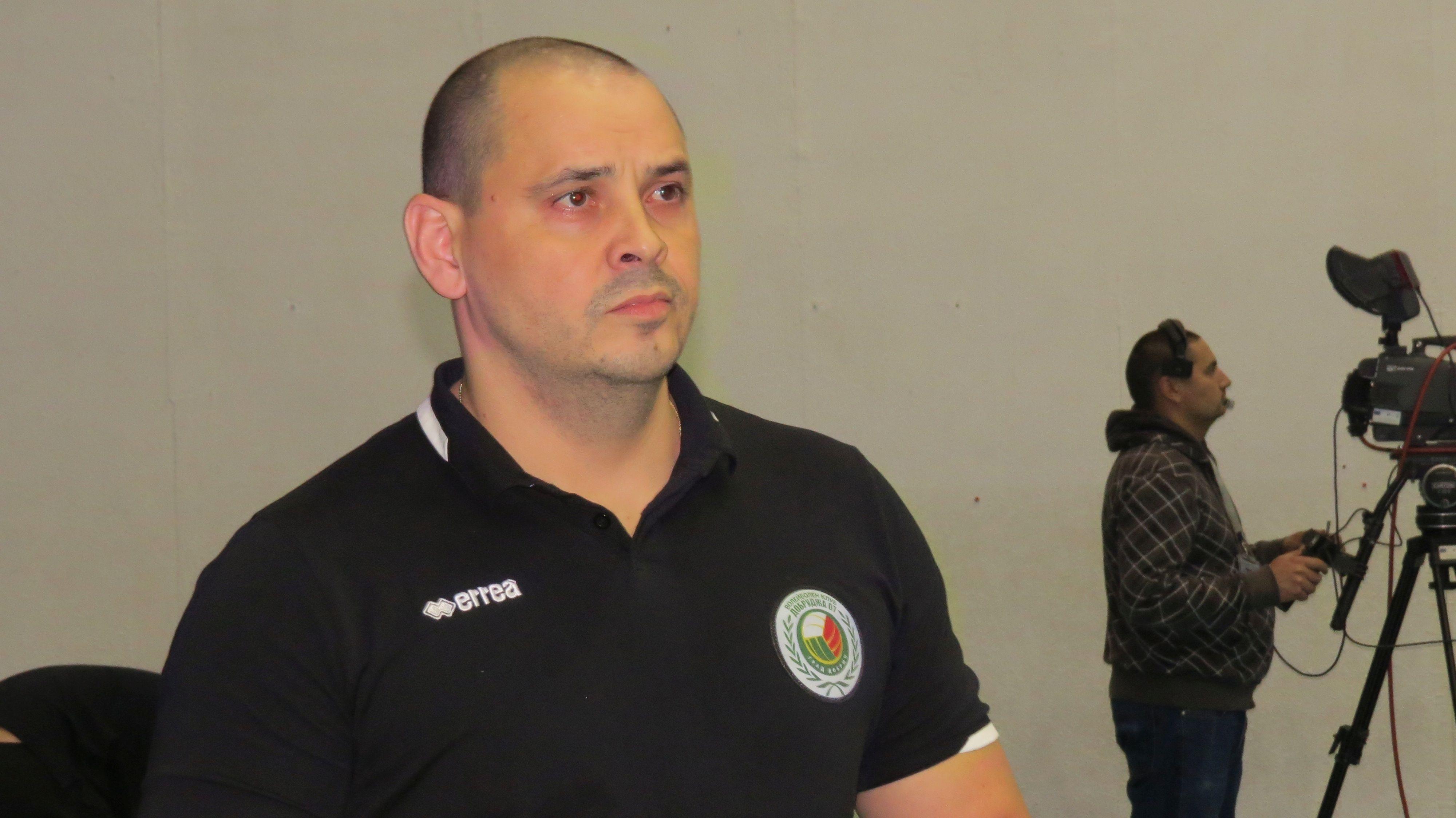 Треньорът на Добруджа 07 Петър Пенев заяви, че всеки мач