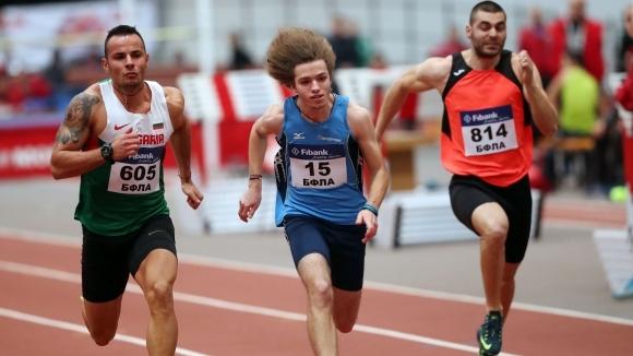 Веселин Живков подобри националния рекорд на 60 метра в зала