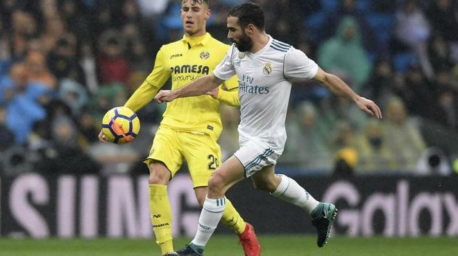 Защитникът Даниел Карвахал от Реал Мадрид се оправда с късмета