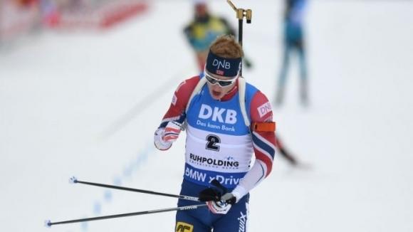 Норвежецът Йоханес Тингес Бьо постигна шеста победа за сезона, след