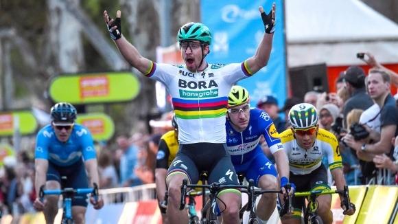 Трикратният световен шампион по колоездене на шосе Петер Саган (Словакия)