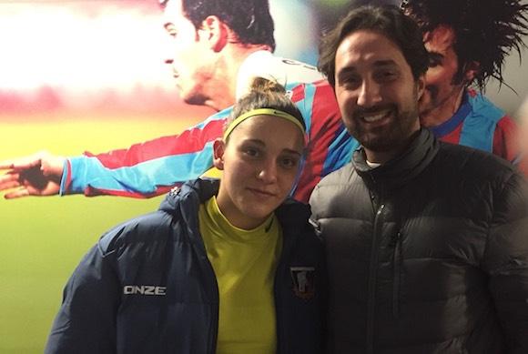 Родената в Благоевград Вени-Дона Сърбинска и нейният Катания записаха втора