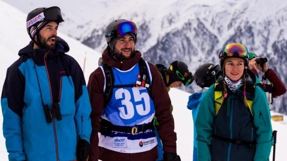 Малко повече от месец бе нужен на първия български ски