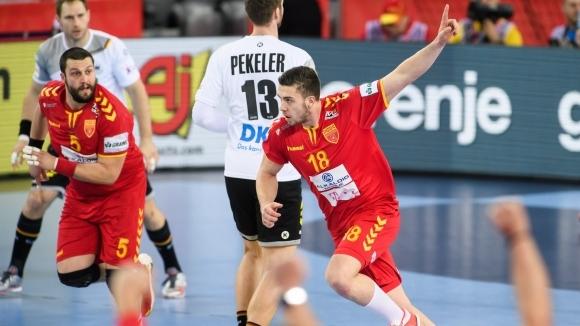 Националният отбор по хандбал за мъже на Македония изигра пореден