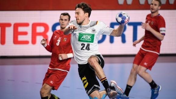 Германия победи Чехия с 22:19 гола в среща от