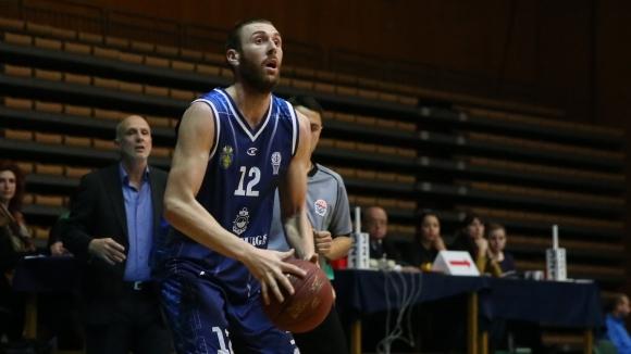Отборът на Спартак (Плевен) записа първа победа в Националната Баскетболна