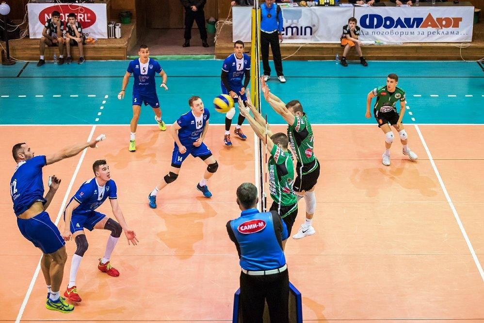 Волейболният отбор на Левски надигра като гост Добруджа 07 (Добрич)
