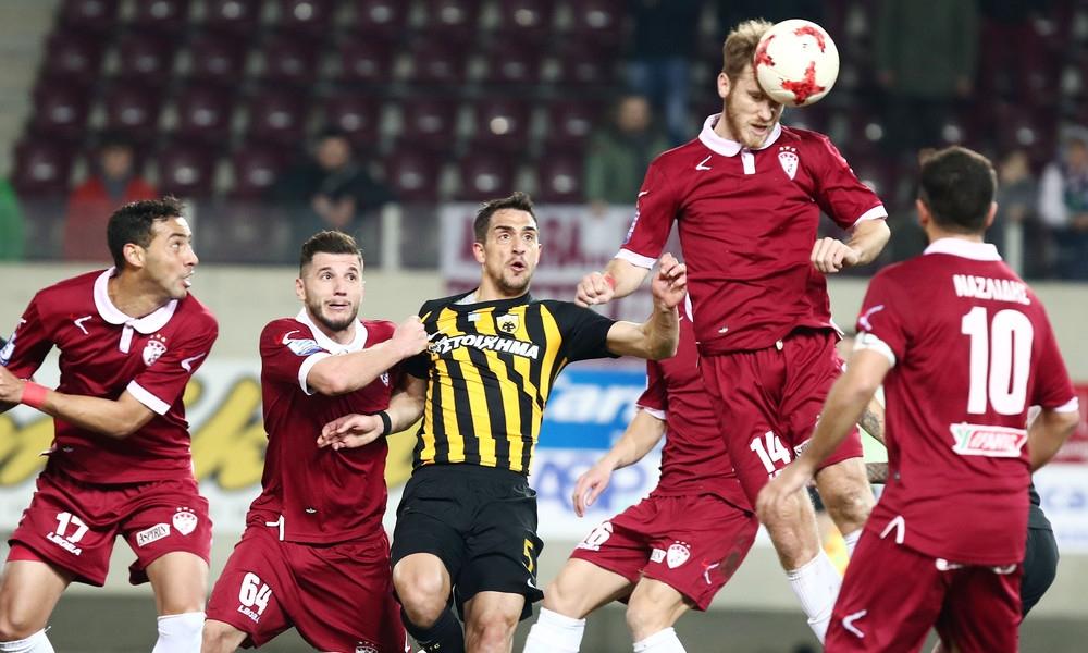 Българският защитник на Лариса Христофор Хубчев записа официален дебют в