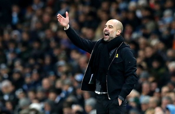 Мениджърът на Манчестър Сити Джосеп Гуардиола беше доволен след победата
