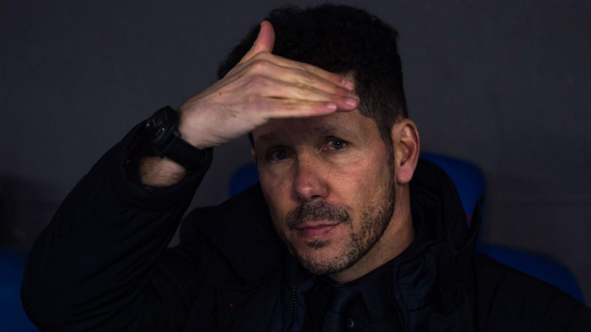 Старши треньорът на Атлетико Мадрид Диего Симеоне не скри, че