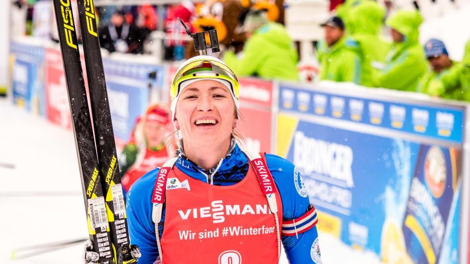 Трикратната олимпийска шампионка от Сочи 2014 Даря Домрачова от Беларус