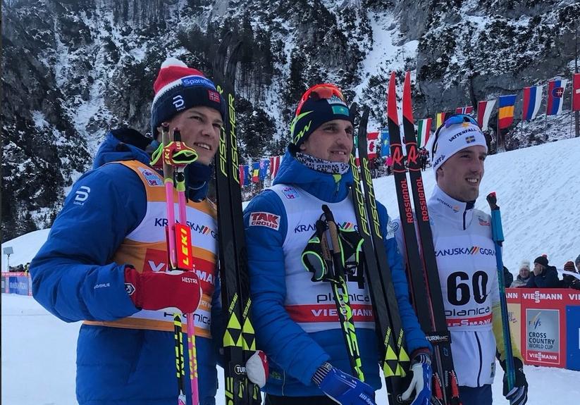 Алексей Полторанин от Казахстан спечели състезанието на 15 километра класически