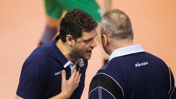 Селекционерът на мъжкия национален отбор на България Пламен Константинов и