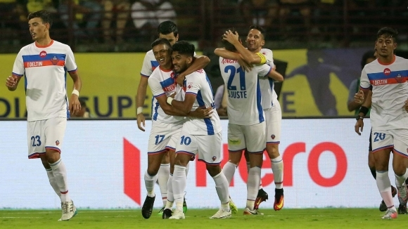 Керала Бластърс допусна втора поредна загуба в Индийската суперлига, след