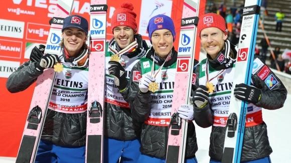 Националният тим на Норвегия спечели за четвърти път световната титла